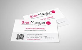 Cartes de visite BienManger.com