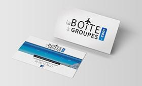 Cartes de visite La Boîtes à Groupes