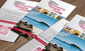 Cartes de Visite Gévaudan Voyages
