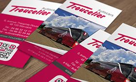 Cartes de visite Autocars Lozère